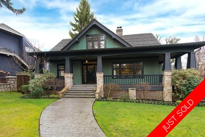 Shaughnessy House for sale:  4 bedroom 3,741 sq.ft. (Listed 2016-02-11)